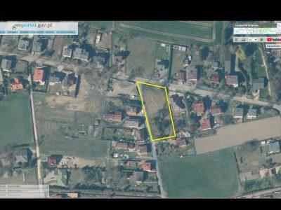 16.03.2021 r. niezbudowana nieruchomość gruntowa w Zbrosławicach o pow. 2.353,00 m2